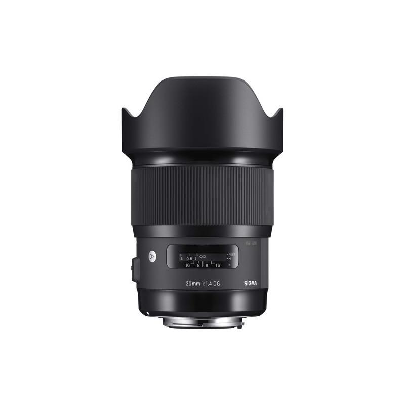 обектив Sigma 20mm f/1.4 DG HSM Art за Sony