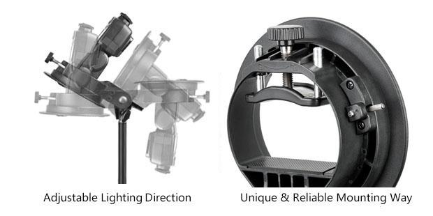 Държач за ръчни светкавици S-type