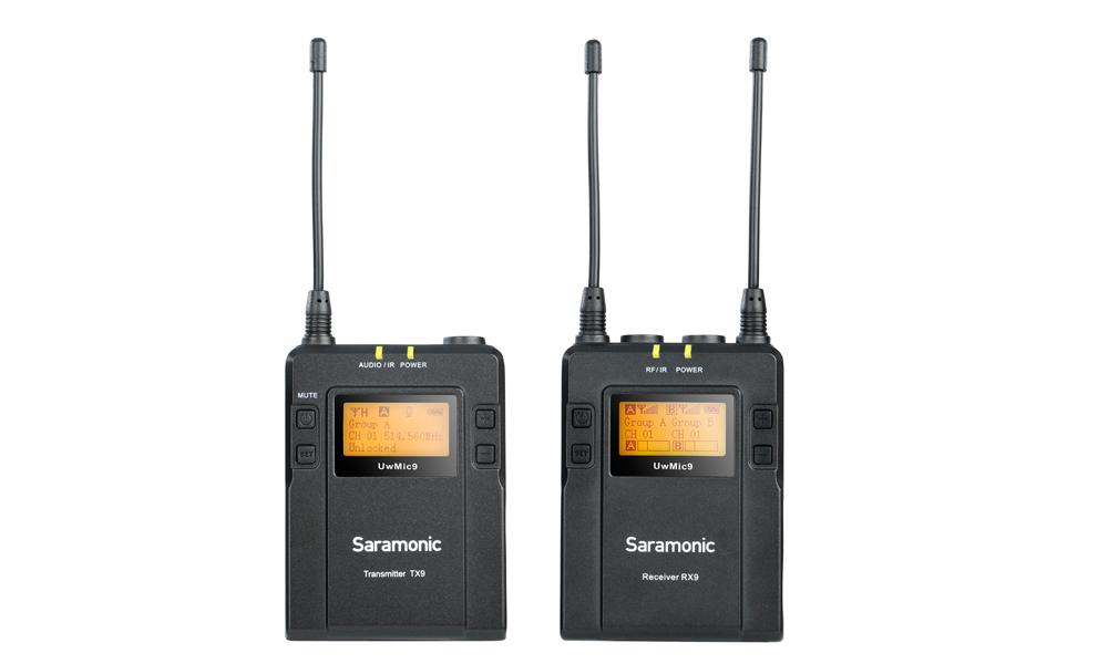 Безжичен микрофон тип брошка Saramonic UwMic9
