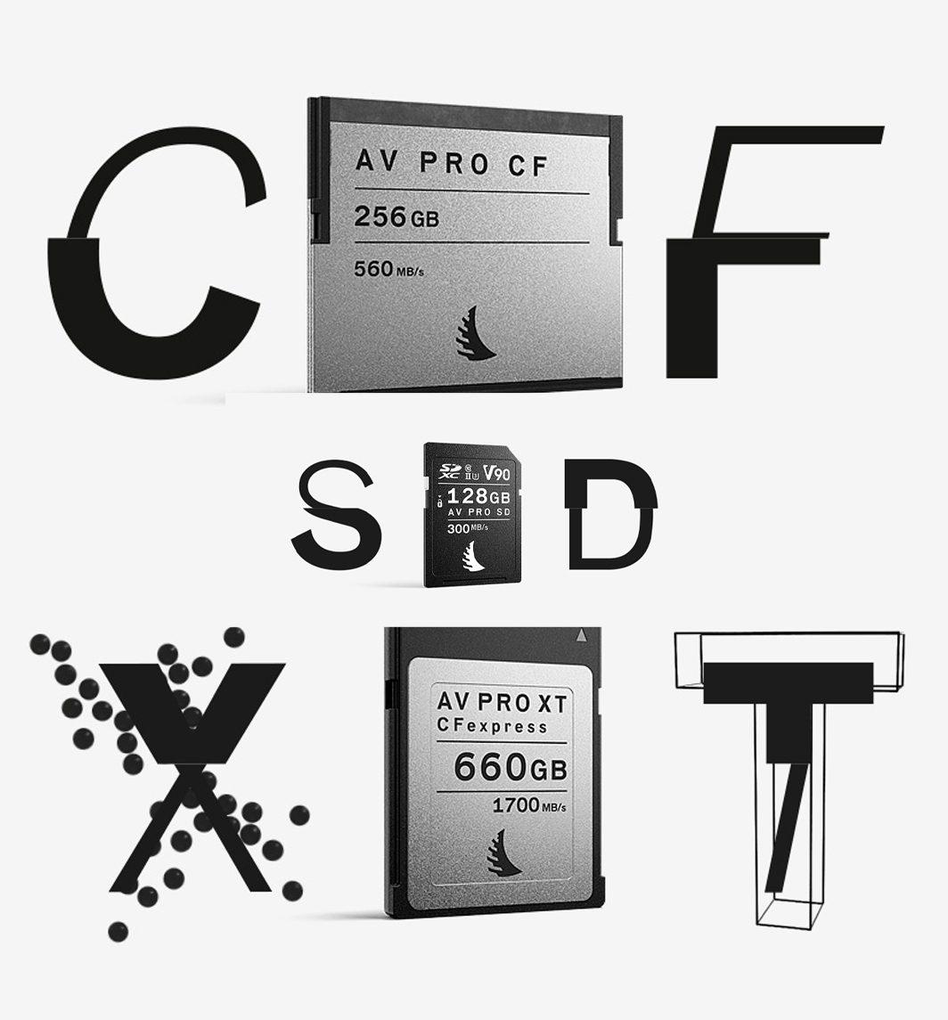 SD/SDXC/CF/CFast карти